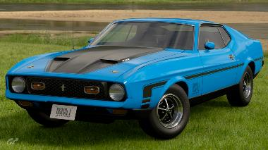 1971 Ford Mustang_Mach_1