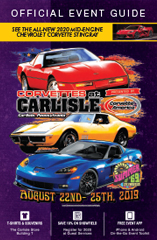 2019 Corvettes at Carlisle