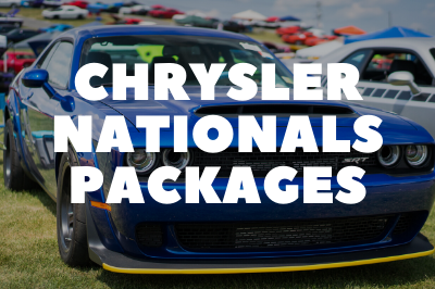 Chrysler Nationals Packages Are Available!