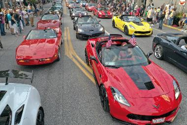 Corvette-Parade