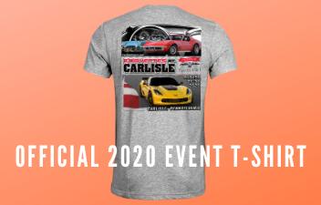 Corvettes At Carlisle 2020 Shirt Available For Pre-Order