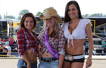 Daisy Duke Competition Continues at Carlisle