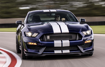 "Take a ""Hot Lap"" in the 2019 GT350"