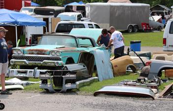 The Carlisle Ford Nationals Automotive Flea Market Awaits You