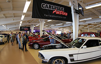 Collector Car Auction Thursday and Friday
