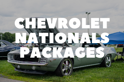 Chevrolet Nationals Packages Are Available!