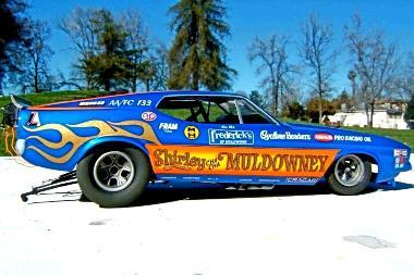 Shirley Muldowney Mustang