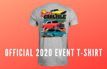 Pre-Order Your Spring Carlisle 2020 T-Shirt
